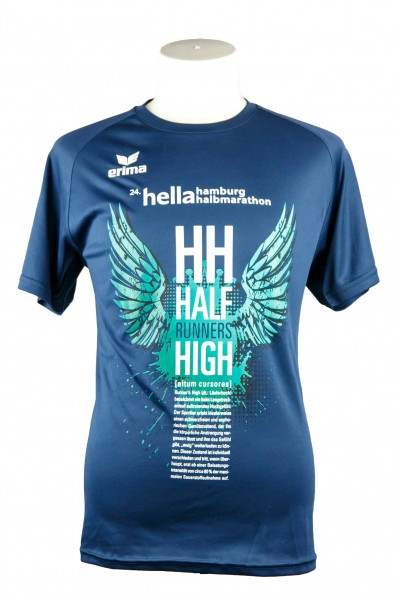 "24. hella hamburg halbmarathon Funktionsshirt ""Runners High"""