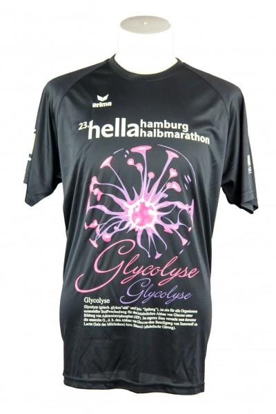 "23. hella hamburg halbmarathon Funktionsshirt ""Glycolyse"""