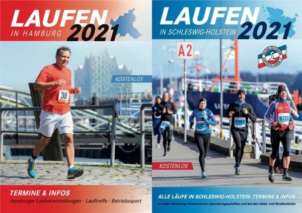 Broschüre Laufen in Hamburg/Laufen in Schleswig-Holstein 2021